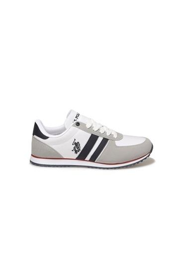 U.S. Polo Assn. Erkek Ayakkabı Plus 100910648 Beyaz